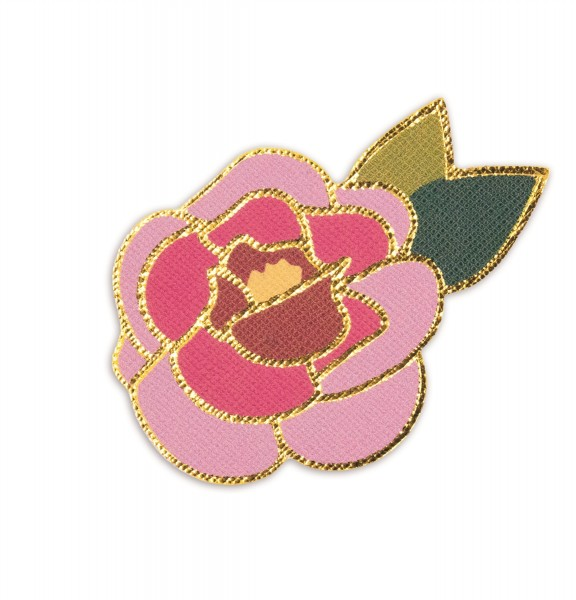 Ledersticker Flower 1