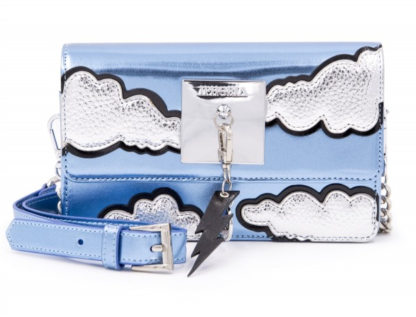 Micro Shoulder /Belt Bag - Plate Cloud with Charm 1