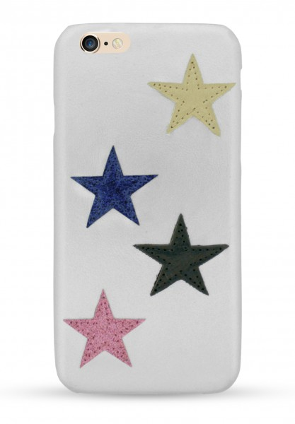 Star Patch Case Silver für iPhone 6/6S/7/8 1