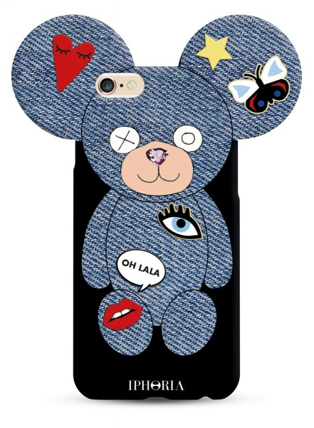 Teddy Jeans&Patches für Apple iPhone 7/ 8 1