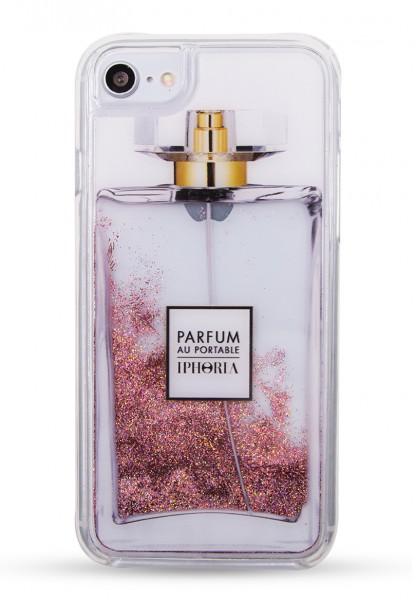 Liquid Case Parfum au Portable Red Glitter für Apple iPhone 7/8  1