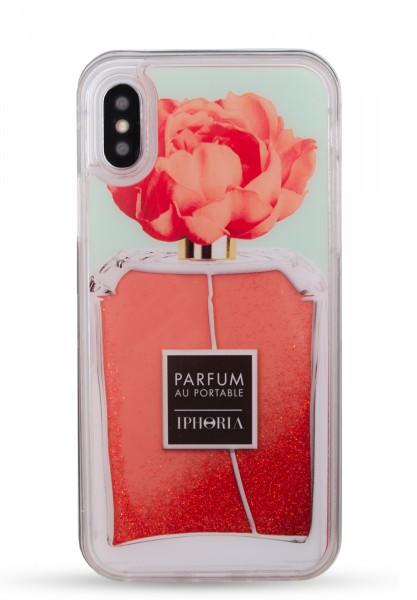 Liquid Case for Apple iPhone X/XS - Perfume Flower Orange 1