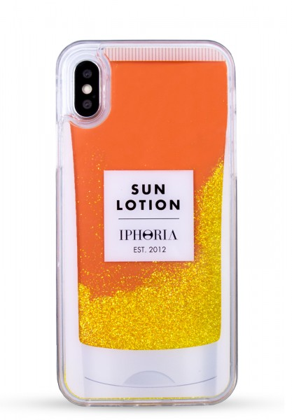 Liquid Case for Apple iPhone X/Xs - Sun Lotion 1