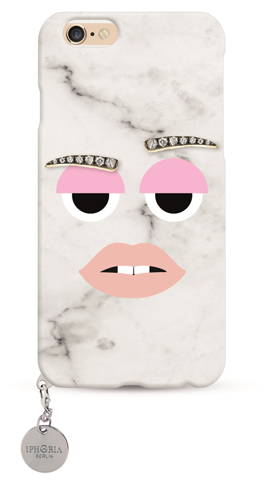 Monster Cool Marble with silver plate for Apple iPhone 7