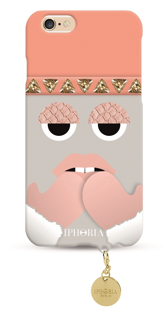 Monster Snow Cutie with golden plate for Apple iPhone 6/ 6S