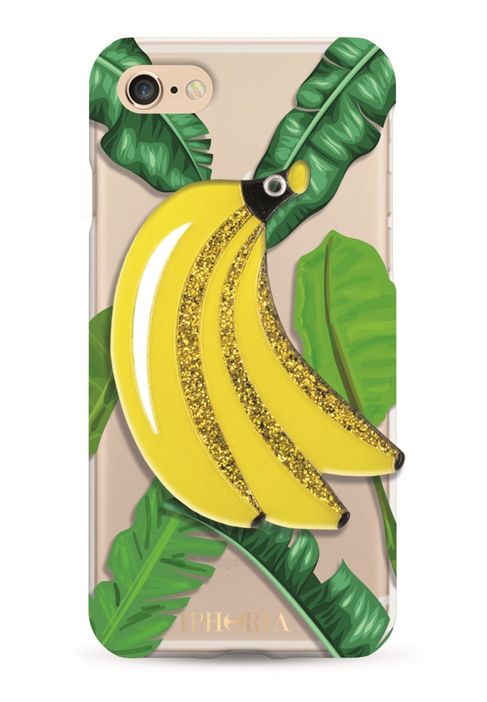 Mirror Case Jungle Bananas for iPhone 7/ 8