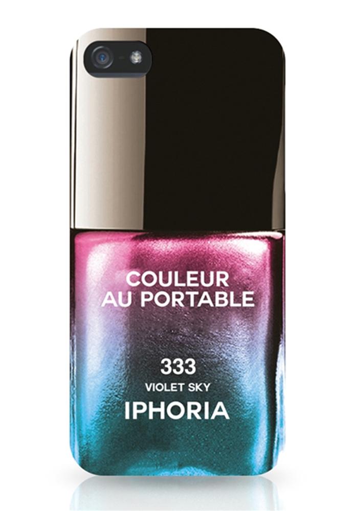 Couleur Au Portable Violet Sky für Apple iPhone 5/ 5S/ SE