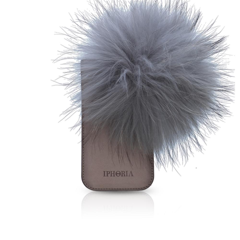 Raccoon Fur Grey für Apple iPhone 5/ 5S/ SE