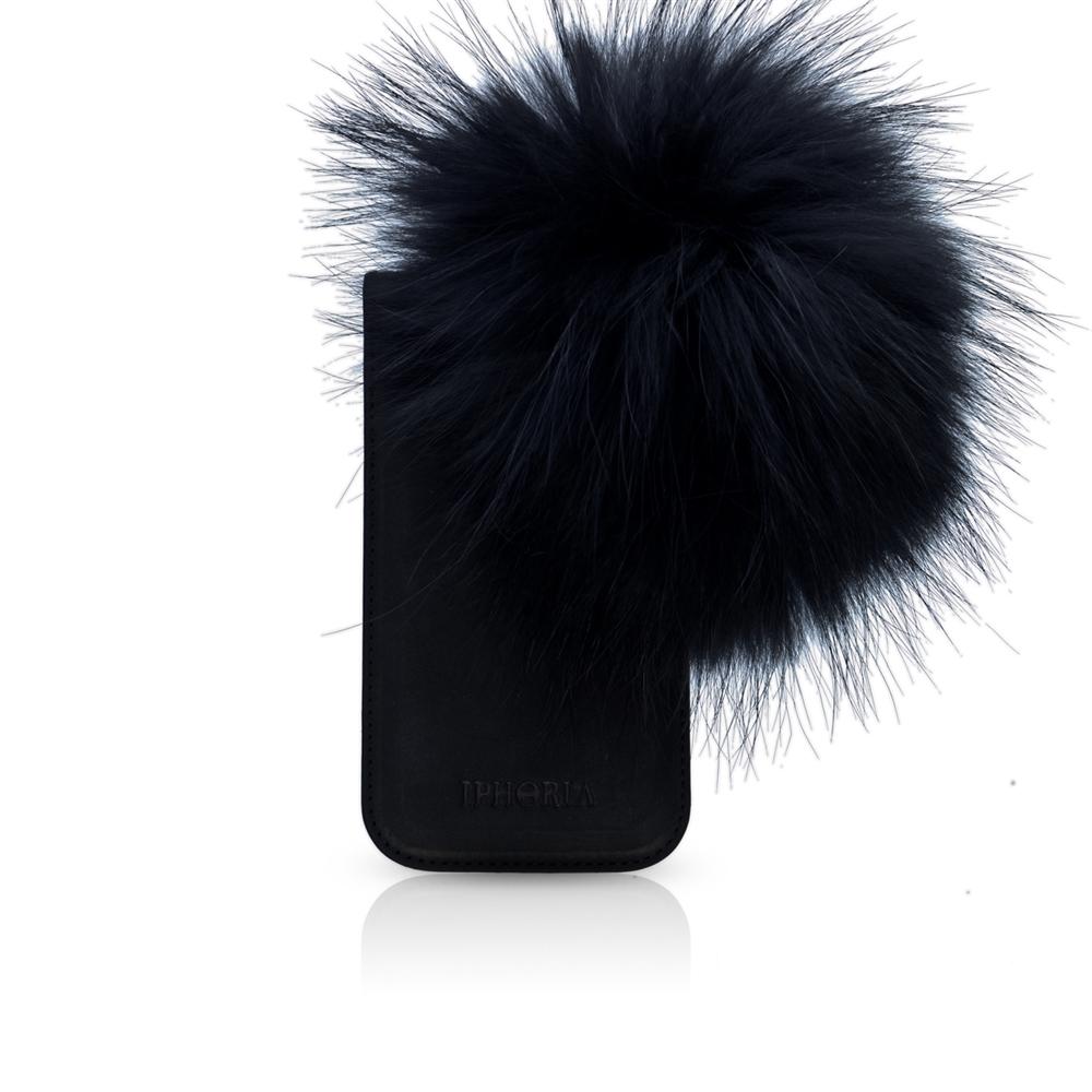 Raccoon Fur Black für Apple iPhone 5/ 5S/ SE