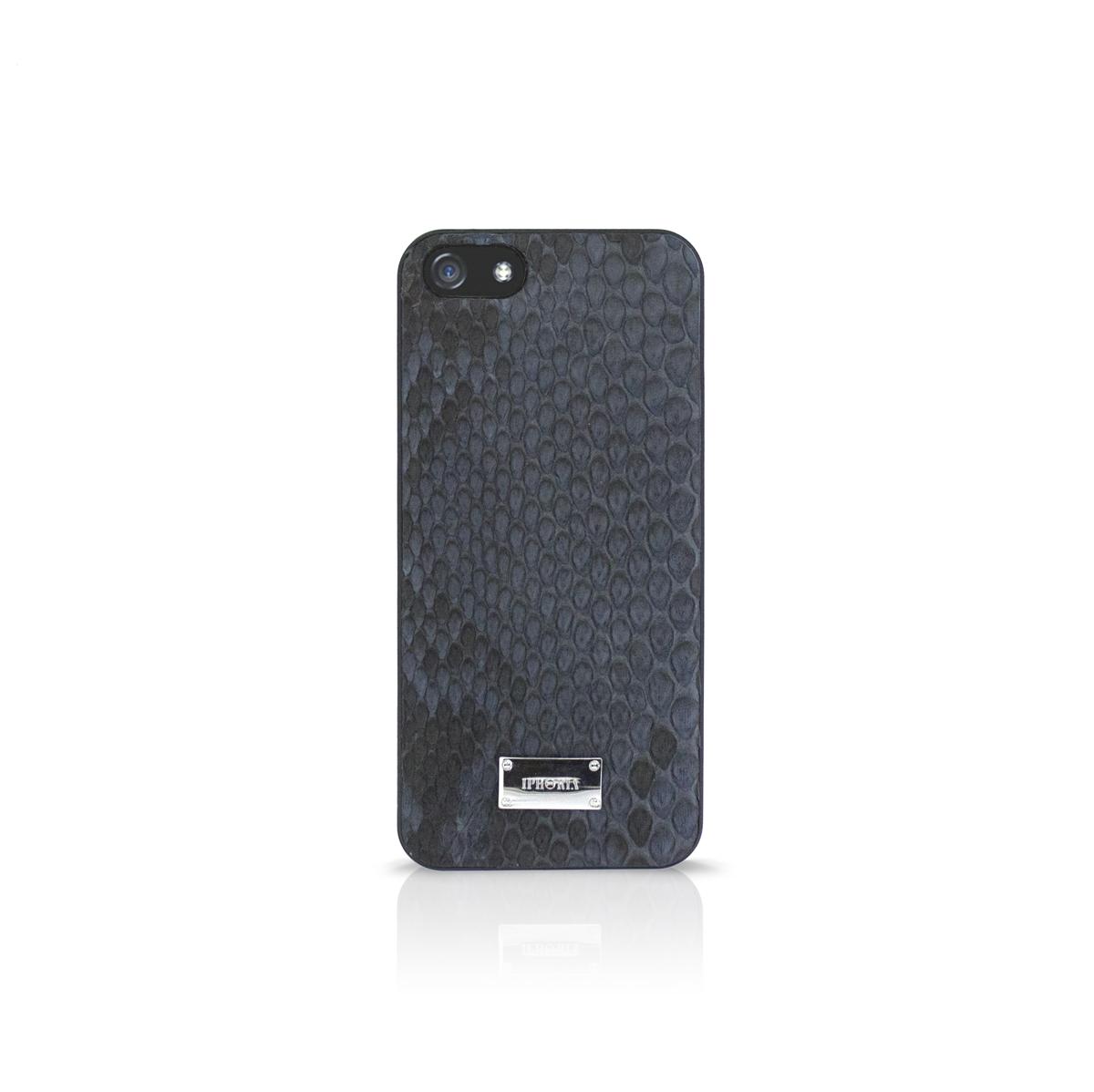 Hardcase Luxury Python Black für Apple iPhone 5/ 5S/ SE
