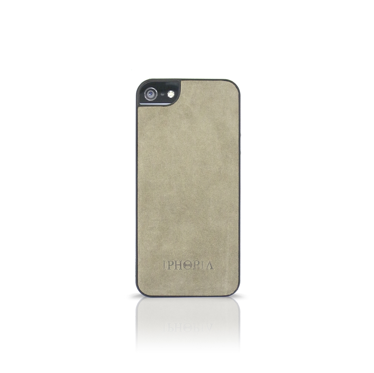 TPU Case Leather Gray für Apple iPhone 5/ 5S/ SE