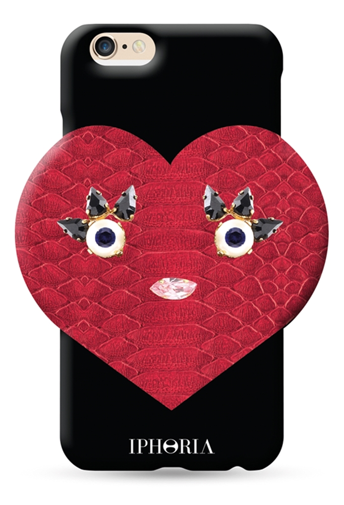 Heartbreaker Black für Apple iPhone 6/ 6S