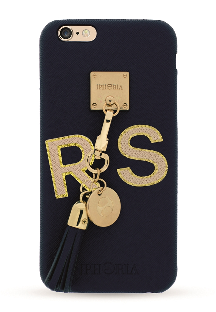 blue lining case gold for apple iphone 6 6s personalize iphoria. Black Bedroom Furniture Sets. Home Design Ideas