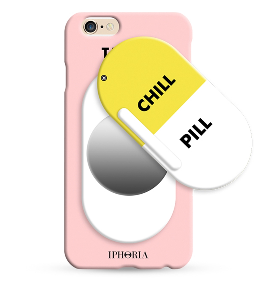 iphoria collection miroir au portable chill pill rose for apple iphone 6 6s cases iphoria. Black Bedroom Furniture Sets. Home Design Ideas