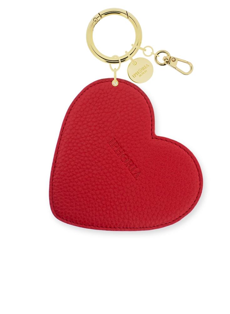 XL Bag Charm Red Heart