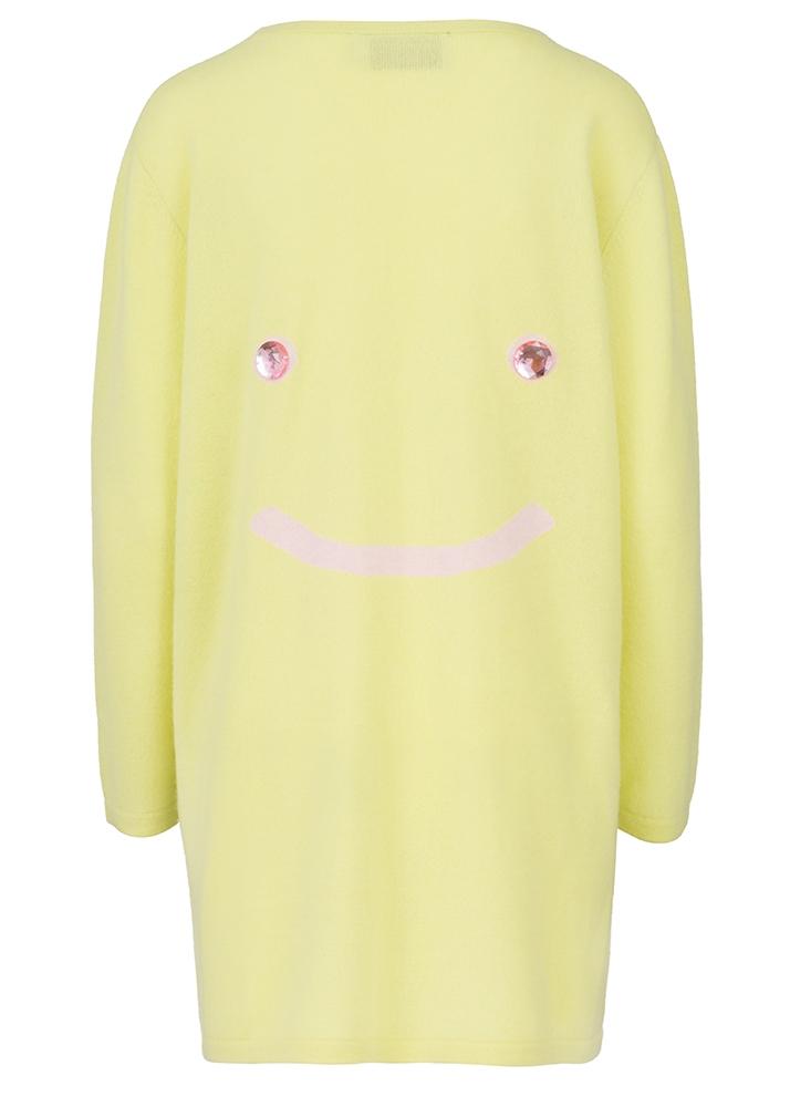 Cashmere Cardigan Smiley Size 1