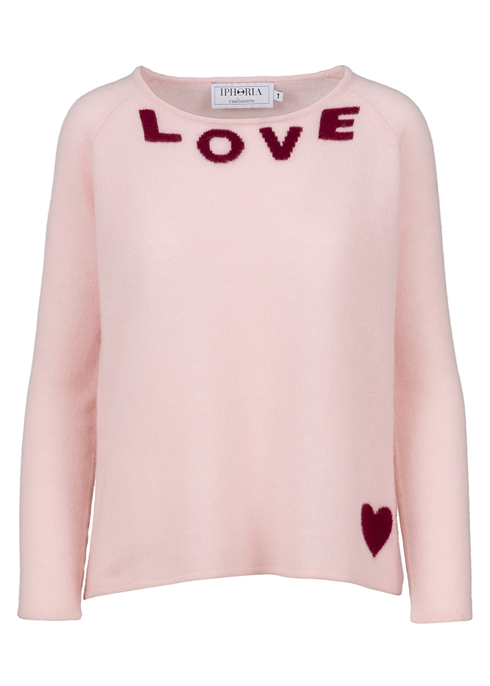 Cashmere Basic Jumper Love Size 2