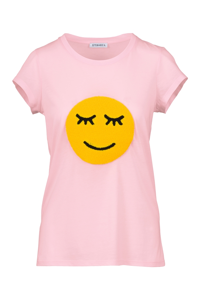 IPHORIA READY TO WEAR COLLECTION T-Shirt Smiley. Size 2