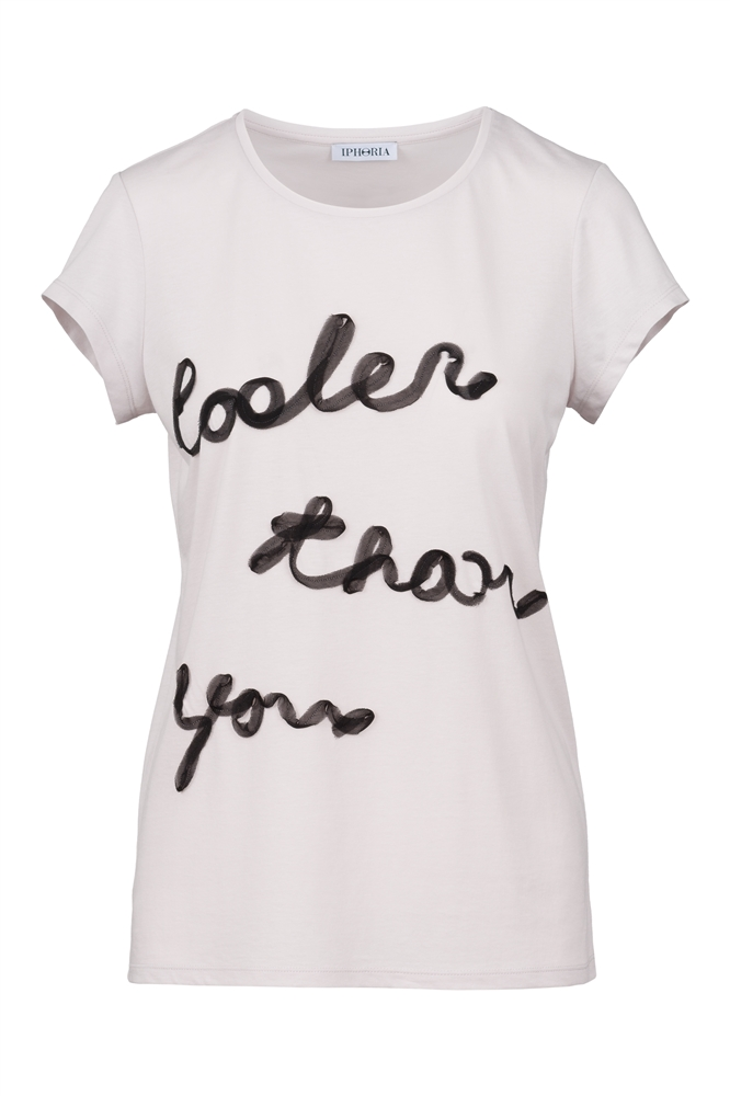 IPHORIA READY TO WEAR COLLECTION T-Shirt Cooler Than You. Size 2